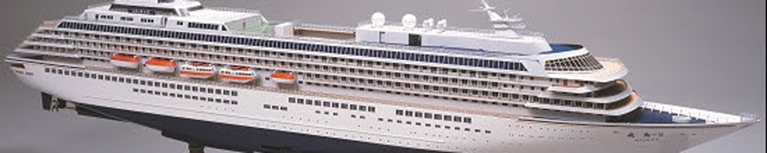 Cruise Ship Model - ASUKA Ⅱ